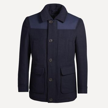 Dock Worker Coat in Navy