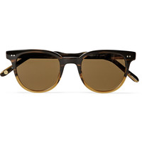 Garrett Leight California Optical - Angelus D-Frame Tortoiseshell Acetate Sunglasses | MR PORTER