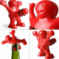 Sir Perky Mrs Perky Novelty Gag Gift Wine Bottle Stopper [8270476865]