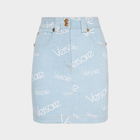 Versace Vintage Logomania Mini Skirt for Women | US Online Store