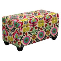 Desert Flower Santa Maria Storage Bench
