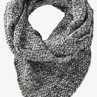 MARLED KNIT ASYMMETRICAL INFINITY SCARF from EXPRESS
