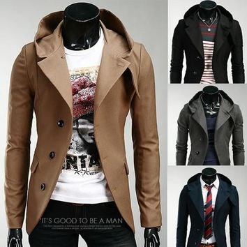 Free Shipping New Korean Slim Small Suit Jacket Men hoodies clothing Outerwear supreme