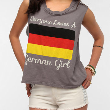 Le Shirt Everyone Loves A German Girl Muscle Tee