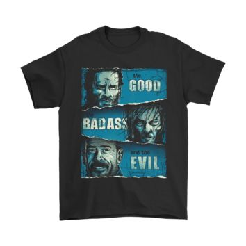 ESB8HB The Good The Badass An The Evil The Walking Dead Shirts