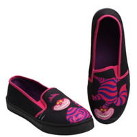 Disney Alice In Wonderland Cheshire Cat Slip-On Sneakers