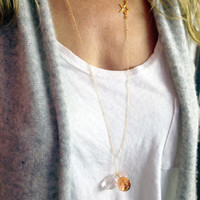 Side Star Necklaces