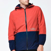 The Hundreds Carson Windbreaker Jacket - Mens Jacket - Red