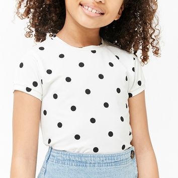 Girls Polka Dot Tee (Kids)