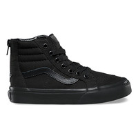 Kids Pop Check SK8-Hi Zip | Shop Kids Shoes at Vans