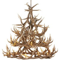 Cabela's 30-Antler Reproduction Elk Chandelier : Cabela's