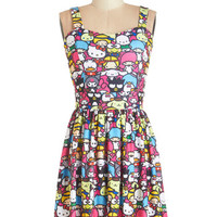 Kawaii Mid-length Sleeveless A-line Trip to Kawaii Dress