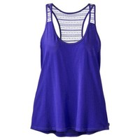 gilligan by Gilligan & OMalley® Womens Lace Tank - Assorted Colors