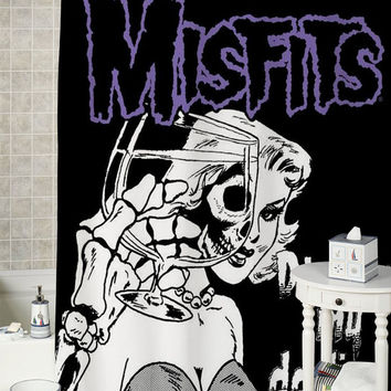 misfit darling special shower curtains that will make your bathroom adorable.