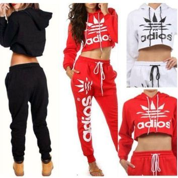 ONETOW tracksuits sportswear women hoodies sweat 2015 fashion jogging suit for women sweatsuit