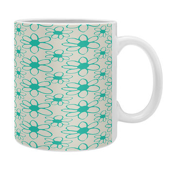 Allyson Johnson Mod Flowers Coffee Mug
