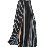 Skirt - Stripemania - Skirts - Women - Modekungen