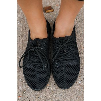 Rally Sneakers - Black