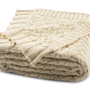 Yorkshire Knit Throw