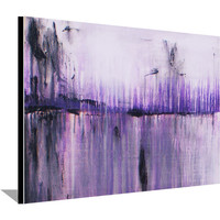 Abstract Painting Original Painting on Canvas Purple Painting Acrylic Wall Decorations Modern Art 30x24 by Heather Day