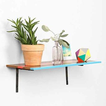Assembly Home Color Stripe Wall Shelf- Multi One