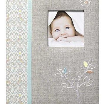 'Linen Tree' Loose Leaf First Five Years Memory Baby Book