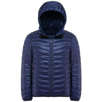 Trendy Mens Jackets And Coats Jaqueta Masculino Ultralight Hooded Jacket Men Outwear Warm Down Parka Lightweight Casual Hooded Coats AT_94_13