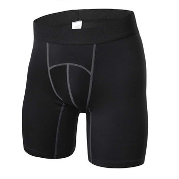 Men's Shorts Fitness Workout Compression Shorts 4 Colors S-XXL SM6