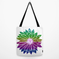 SunFlower Tote Bag by Haroulita