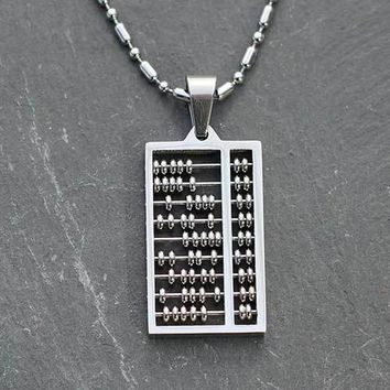 Abacus Necklace