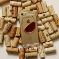 Red Wine iPhone 6 Phone Case