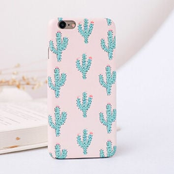 Original Non-slip Cactus iPhone 7 7 Plus iPhone se 5s 6 6s Plus Case + Gift Box