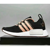LV x Adidas Women Men Running Sport Casual Shoes NMD Sneakers