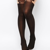 ASOS Pug Design Over The Knee Tights
