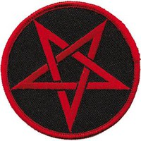 Iron-On Patch - Pentagram