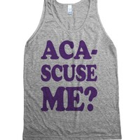 Aca-Scuse Me?-Unisex Athletic Grey Tank