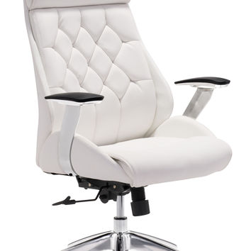 Narcissist Office Chair | White