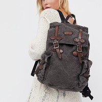 Columbus Distressed Backpack