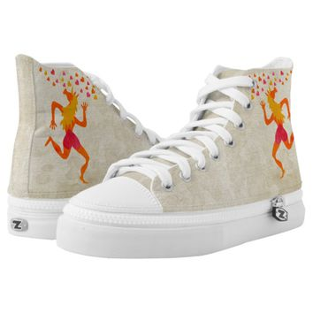 Love you from the bottom of my heart High-Top sneakers