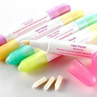 5x NAIL POLISH VARNISH REMOVER CORRECTOR PEN CORRECTION:Amazon:Beauty