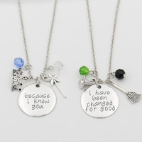 Wicked the Musical Necklace Set