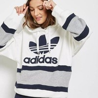 ONETOW adidas Originals Women Fashion Pullover Hoodie