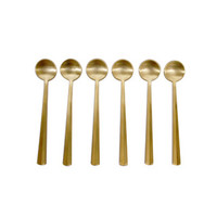 canvas — Nagasaki Coffee Spoons in Matte Gold