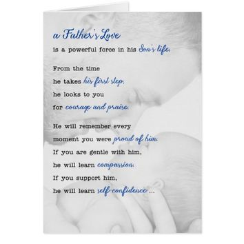 Father's Day New Daddy Soul Sonnet™ Collection Card