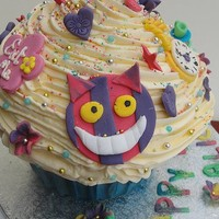 Alice in Wonderland Cupcake Cake « The Cupcake Blog