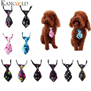 KANCOOLD Mens Adjustable tie Dog Cat Teddy Pet Puppy Toy Grooming Bow Tie Necktie Clothes FEB1