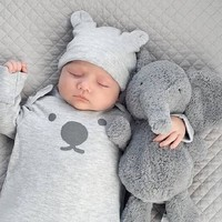 40CM Baby Elephant Doll Stuffed Appease Elephant Plush Pillow Kids Toy For Children Room Bed Decoration Babies Plush Toys Gift