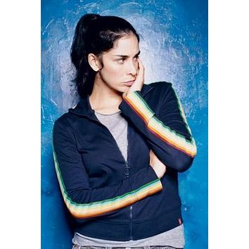 Sarah Silverman poster Metal Sign Wall Art 8in x 12in