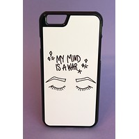 My Mind Is A War Phone Case