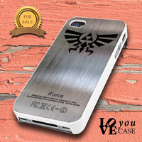 ZELDA TRIFORCE METAL for iphone, ipod, samsung galaxy, HTC and Nexus PHONE CASE